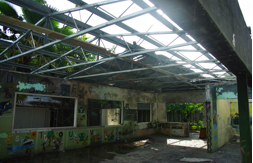 YWCA Kindergarten in the Solomon Islands after the fire