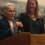 Connie Tate introduces new World YWCA General Secretary Malayah Harper