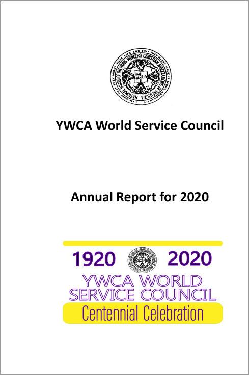 YWCA World Service Council Annual-Report
